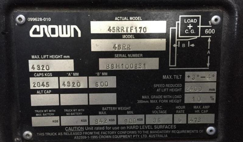 Crown 45RRTF170 full