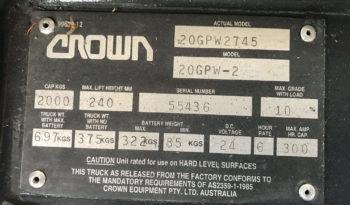 CROWN 20GPW2745 full