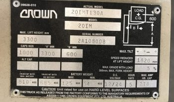 Crown 20MT130A full