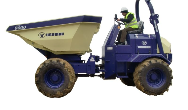 NEW Uromac Gyranter 9Ton Dumper full