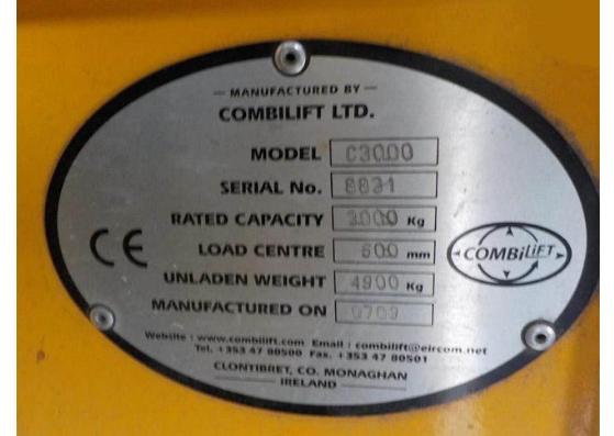 Combilift C3000 full