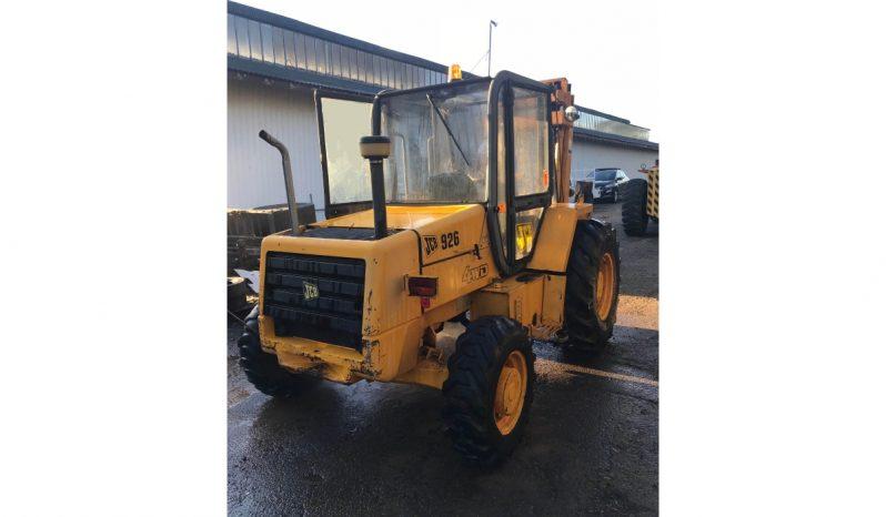 JCB 926 4WD Forklift full