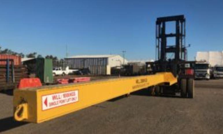 NEW Forklift Unpack Jib full