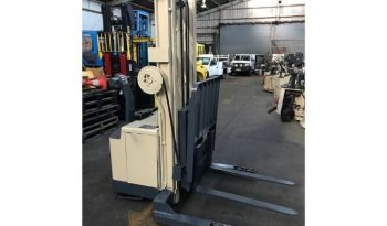Crown 1.5T (3.8m Lift) Walkie Reach Stacker 30WRTL150 Forklift full