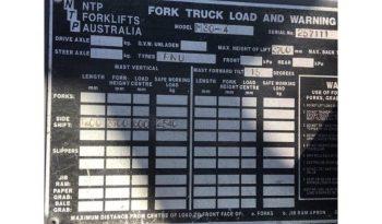 Manitou 3T (3.7m Lift) All Terrain 4WD Diesel M30-4 Forklift full