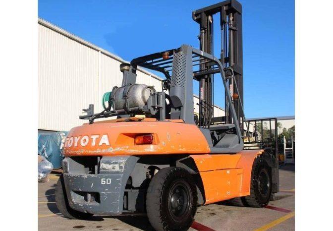 Toyota 5FG60, 6ton (5m Lift) LPG Forklift full