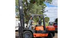 Toyota 6FD50, 5Ton (5.5m LIFT) WideVision Diesel Forklift