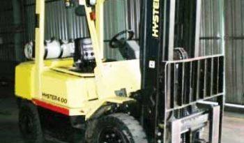 Hyster H4.00DX, 4Ton (4.9m Lift) V6 LPG Forklift full