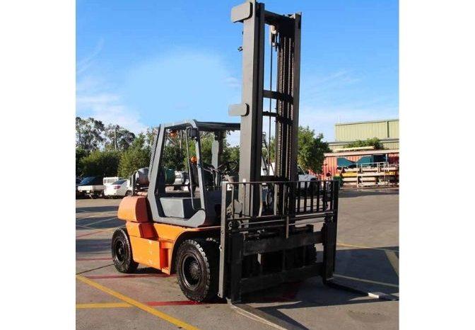 Toyota 5FG60, 6Ton (5.1m Lift) LPG Forklift full