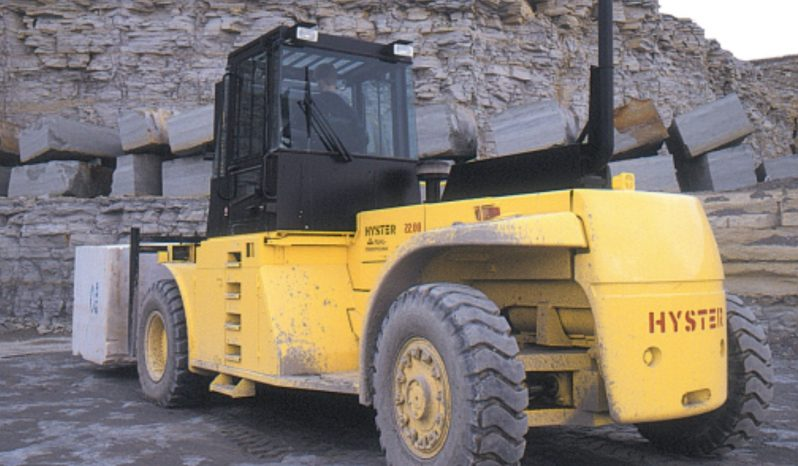 Hyster H32F, 32Ton (6.81m Lift) Container Handler Diesel Forklift full