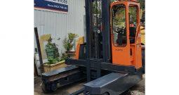 Hubtex DQ30G, 3Ton (6.5m Lift) Multi-Directional LPG Forklift